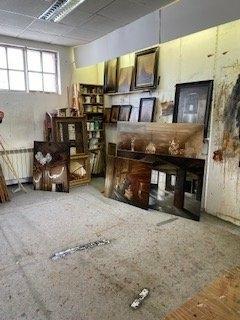 Visite atelier de Patrick Bastardoz, artiste peintre