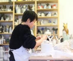 Visite atelier Yun-Jung Song sculptrice-céramiste