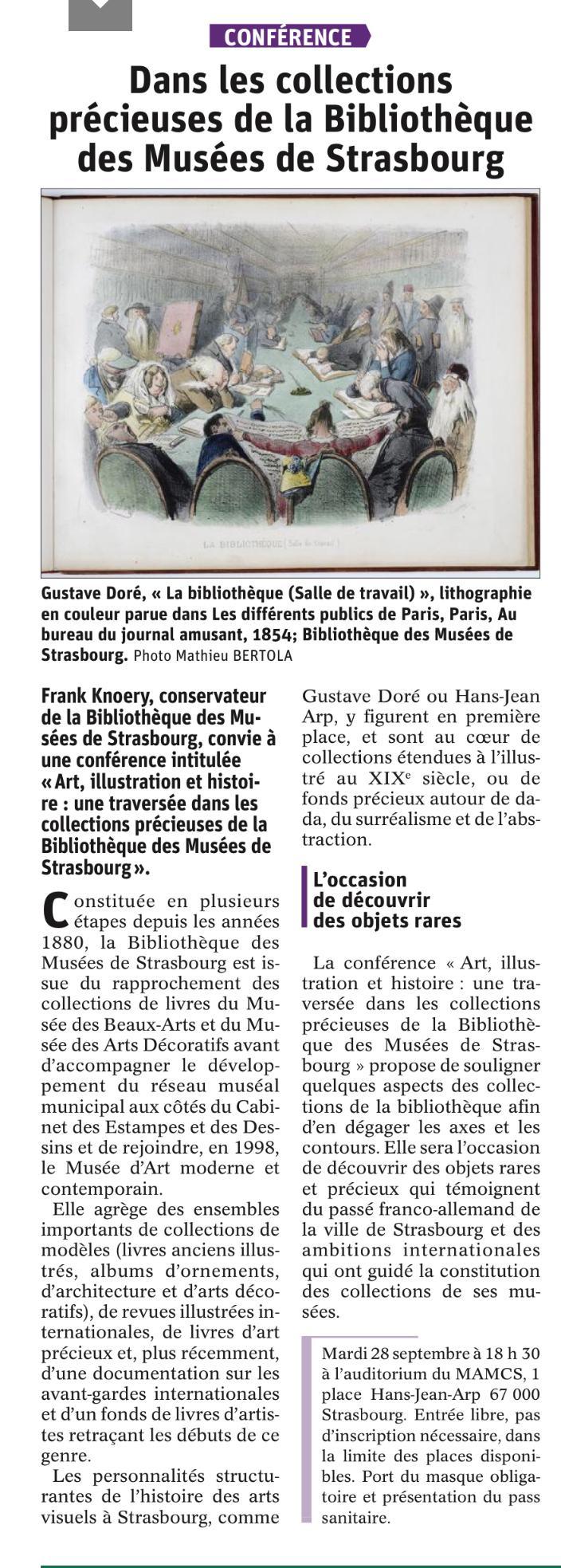 Conférence de M. Frank Knoery